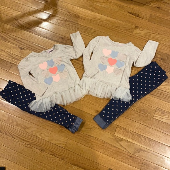 TWINS!! Very sweet outfits!